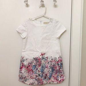 Zara little girls white dress🎀
